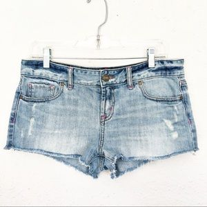 Pink Victoria's Secret Jean Cut-Off Shorts